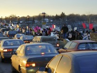 Vigil to End War, every Wed. at the Lake Street / Marshall Avenue Bridge